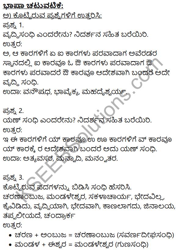 Siri Kannada Text Book Class 9 Solutions Gadya Chapter 3 Dharma Samadrusti 9
