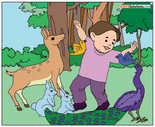 The Child Who Saved the Forest Summary In English 1