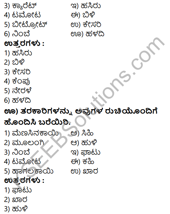Tili Kannada Text Book Class 7 Solutions Gadya Chapter 9 Tarakarigala Mela 8