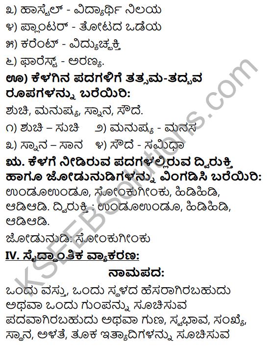 Tili Kannada Text Book Class 9 Solutions Gadya Chapter 3 Jenu Kurubara Tayiyu Kadu Aneya Maganu 13