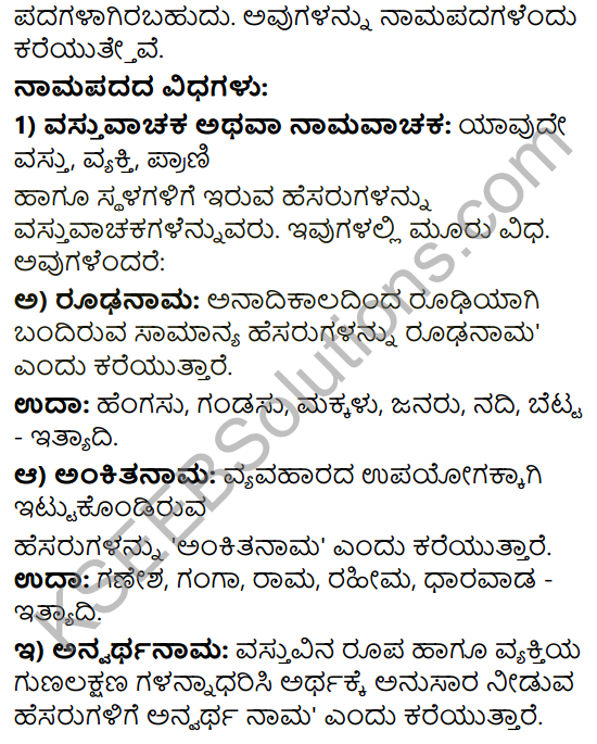 Tili Kannada Text Book Class 9 Solutions Gadya Chapter 3 Jenu Kurubara Tayiyu Kadu Aneya Maganu 14