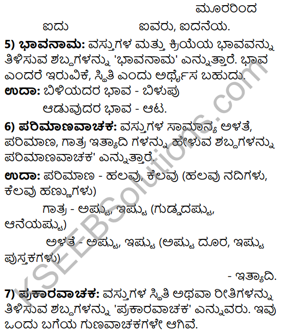 Tili Kannada Text Book Class 9 Solutions Gadya Chapter 3 Jenu Kurubara Tayiyu Kadu Aneya Maganu 16