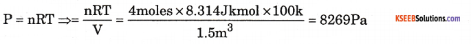 1st PUC Chemistry Model Question Paper 4 with Answers 16