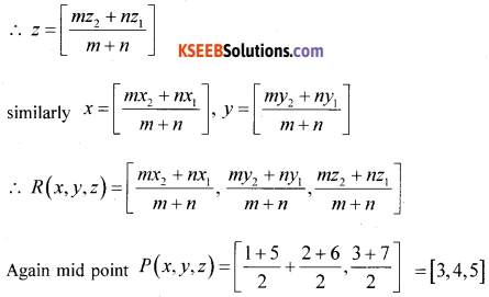 1st PUC Maths Model Question Paper 4 with Answers - 8