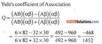 1st PUC Statistics Model Question Paper 2 with Answers - 22