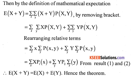 1st PUC Statistics Model Question Paper 2 with Answers - 30