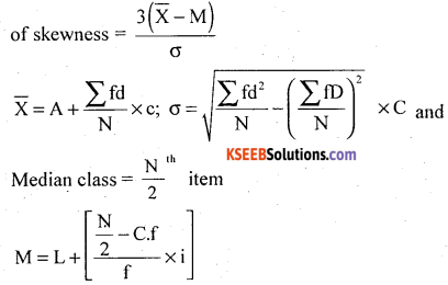 1st PUC Statistics Model Question Paper 2 with Answers - 35