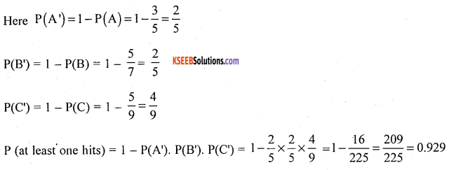 1st PUC Statistics Model Question Paper 2 with Answers - 54