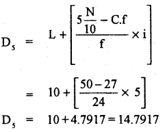 1st PUC Statistics Previous Year Question Paper March 2019 (North) - 29