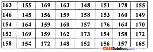 1st PUC Statistics Previous Year Question Paper March 2019 (North) - 43