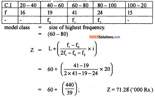 1st PUC Statistics Previous Year Question Paper March 2019 (South) - 13