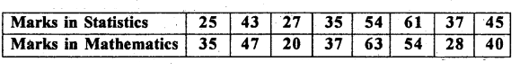 1st PUC Statistics Previous Year Question Paper March 2019 (South) - 14