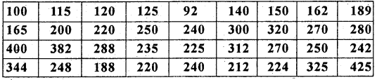 1st PUC Statistics Previous Year Question Paper March 2019 (South) - 47