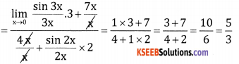 2nd PUC Basic Maths Question Bank Chapter 17 Limit and Continuity of a Function Ex 17.2 - 14