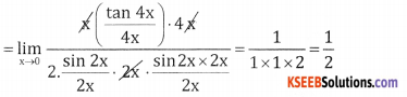 2nd PUC Basic Maths Question Bank Chapter 17 Limit and Continuity of a Function Ex 17.2 - 20