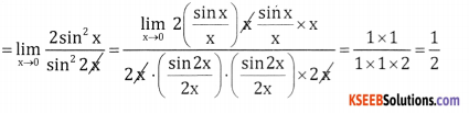 2nd PUC Basic Maths Question Bank Chapter 17 Limit and Continuity of a Function Ex 17.2 - 22