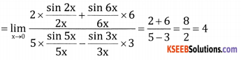 2nd PUC Basic Maths Question Bank Chapter 17 Limit and Continuity of a Function Ex 17.2 - 30