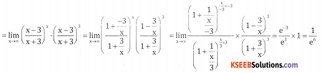 2nd PUC Basic Maths Question Bank Chapter 17 Limit and Continuity of a Function Ex 17.3 - 16