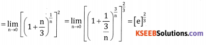 2nd PUC Basic Maths Question Bank Chapter 17 Limit and Continuity of a Function Ex 17.3 - 6