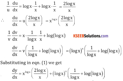 2nd PUC Basic Maths Question Bank Chapter 18 Differential Calculus Ex 18.5 - 2