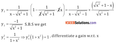 2nd PUC Basic Maths Question Bank Chapter 18 Differential Calculus Ex 18.7 - 9