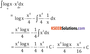 2nd PUC Basic Maths Question Bank Chapter 20 Indefinite Integrals Ex 20.6 - 2