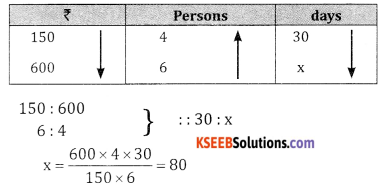 2nd PUC Basic Maths Question Bank Chapter 7 Ratios and Proportions Ex 7.3 - 1