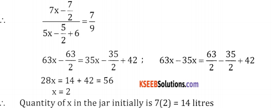2nd PUC Basic Maths Question Bank Chapter 7 Ratios and Proportions Ex 7.3 - 5