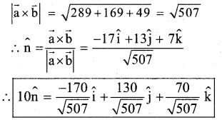 2nd PUC Maths Model Question Paper 1 with Answers 35