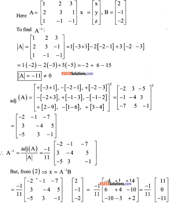2nd PUC Maths Model Question Paper 1 with Answers 44