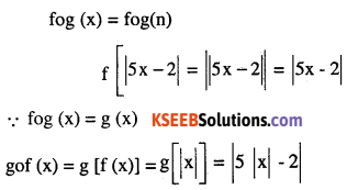 2nd PUC Maths Question Bank Chapter 1 Relations and Functions Ex 1.3 1