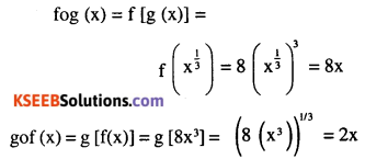 2nd PUC Maths Question Bank Chapter 1 Relations and Functions Ex 1.3 2