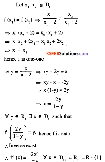 2nd PUC Maths Question Bank Chapter 1 Relations and Functions Ex 1.3 4