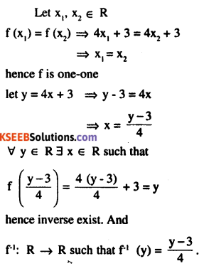 2nd PUC Maths Question Bank Chapter 1 Relations and Functions Ex 1.3 5