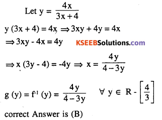 2nd PUC Maths Question Bank Chapter 1 Relations and Functions Ex 1.3 9