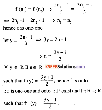 2nd PUC Maths Question Bank Chapter 1 Relations and Functions Miscellaneous Exercise 12