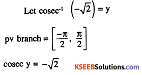 2nd PUC Maths Question Bank Chapter 2 Inverse Trigonometric Functions Ex 2.1 11