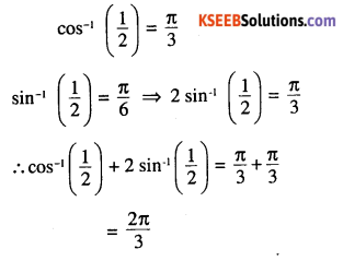 2nd PUC Maths Question Bank Chapter 2 Inverse Trigonometric Functions Ex 2.1 14