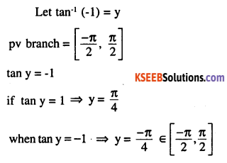 2nd PUC Maths Question Bank Chapter 2 Inverse Trigonometric Functions Ex 2.1 7
