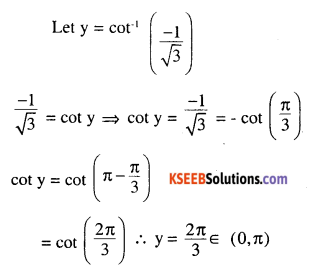 2nd PUC Maths Question Bank Chapter 2 Inverse Trigonometric Functions Miscellaneous Exercise 28