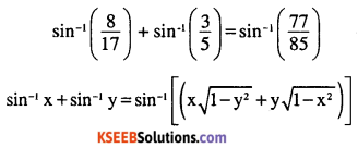 2nd PUC Maths Question Bank Chapter 2 Inverse Trigonometric Functions Miscellaneous Exercise 4