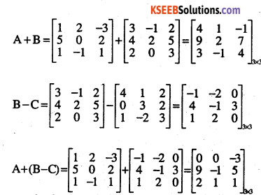 2nd PUC Maths Question Bank Chapter 3 Matrices Ex 3.2 12