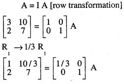 2nd PUC Maths Question Bank Chapter 3 Matrices Ex 3.4 12