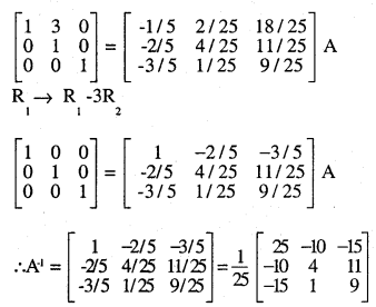 2nd PUC Maths Question Bank Chapter 3 Matrices Ex 3.4 22