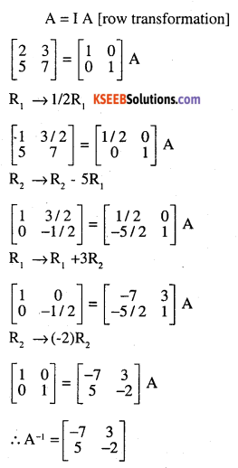 2nd PUC Maths Question Bank Chapter 3 Matrices Ex 3.4 5