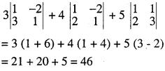 2nd PUC Maths Question Bank Chapter 4 Determinants Ex 4.1.5