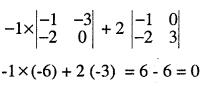2nd PUC Maths Question Bank Chapter 4 Determinants Ex 4.1.6