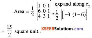 2nd PUC Maths Question Bank Chapter 4 Determinants Ex 4.3.1