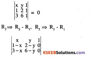 2nd PUC Maths Question Bank Chapter 4 Determinants Ex 4.3.7