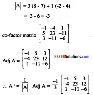 2nd PUC Maths Question Bank Chapter 4 Determinants Ex 4.5.11